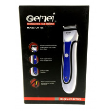машинка для стрижки волос съемный аккумулятор Gemei GM-786