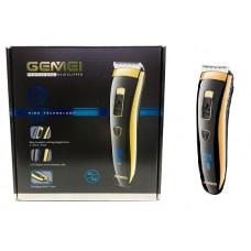 машинка для стрижки волос+цифровой дисплей Gemei GM-803