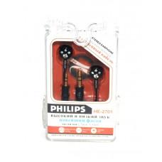 наушники 2 штекера PHILIPS HE-2701