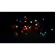 гирлянда черная 120 лампа LED-8001