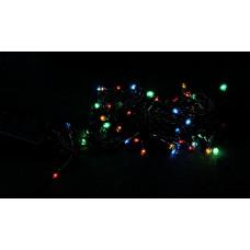 гирлянда черная 140 лампа LED-8002