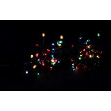 гирлянда черная 160 лампа LED-8003