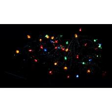 гирлянда черная 180 лампа LED-8004
