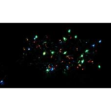гирлянда черная 200 лампа LED-8005
