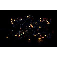 гирлянда черная 300 лампа LED-8007