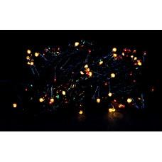 гирлянда черная 320 лампа LED-8008