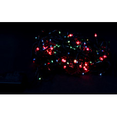 гирлянда черная 400 лампа LED-8009