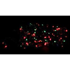 гирлянда черная 500 лампа LED-8010
