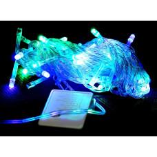 гирлянда прозрачная (светодиодная) 100 лампа LED-8011