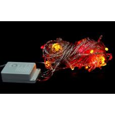 гирлянда прозрачная (светодиодная) 140 лампа LED-8012