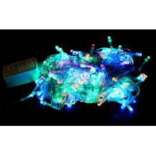 гирлянда прозрачная (светодиодная) 240 лампа LED-8016