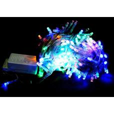 гирлянда прозрачная (светодиодная) 300 лампа LED-8017