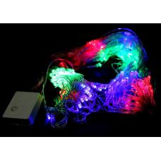 гирлянда прозрачная (светодиодная) 400 лампа LED-8018