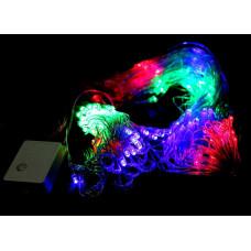 гирлянда прозрачная (светодиодная) 500 лампа LED-8019