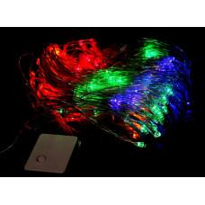 гирлянда прозрачная (светодиодная) сетка 240 лампа LED-8022