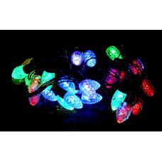 гирлянда черная (фигурки) 40 лампа LED-8025