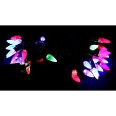 гирлянда черная (фигурки) 40 лампа LED-8026
