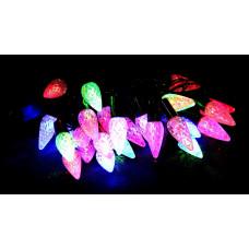 гирлянда черная (фигурки) 40 лампа LED-8027