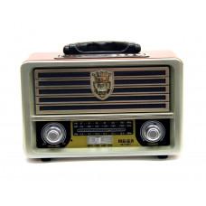 радиоприемник Ретро Meier M-U113BT Bluetooth USB SD аккумулятор