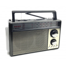 радиоприемник Meier+USB+SD+фонарик+аккумулятор M-U120