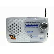 радиоприемник Meier+USB+SD+аккумулятор M-U72