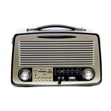 радиоприемник Ретро KEMAI MD-1700U USB SD аккумулятор