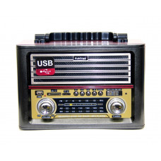 радиоприемник Ретро KEMAI MD-1705U USB SD аккумулятор