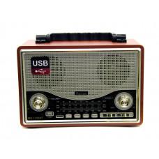 радиоприемник Ретро KEMAI MD-1706U USB SD аккумулятор