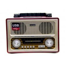 радиоприемник Ретро KEMAI MD-1800UR USB SD запись аккумулятор