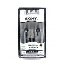 наушники 2 штекера SONY MDR-5616