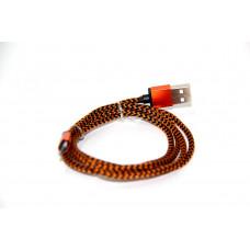 кабель Micro (тряпочный, металлический)