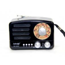 радиоприемник Ретро NNS NS-1380BT+Bluetooth+USB+SD+аккумулятор