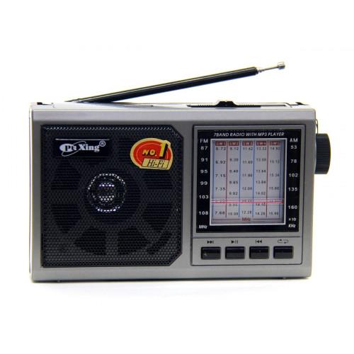 радиоприемник PuXing USB SD аккумулятор PX-1710U
