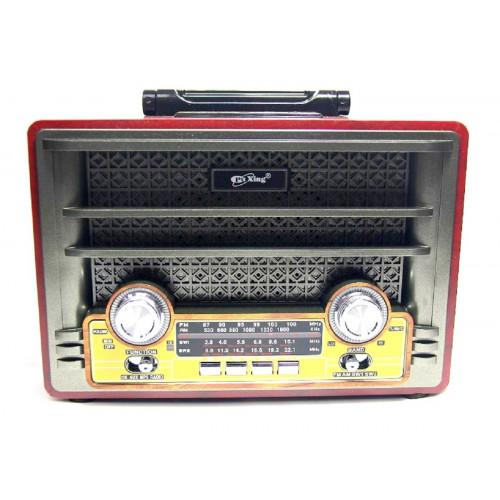 радиоприемник Ретро PuXing+USB+SD+REC+аккумулятор PX-2000IR