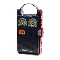 радиоприемник PuXing+USB+SD+аккумулятор PX-396U