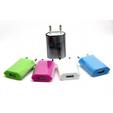 розетка USB Iphone (плоская) 1A (D20)