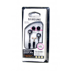 наушники 2 штекера насадки SAMSUNG TS-3083