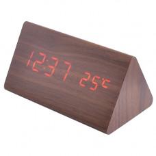часы (деревянные) дата температура VST-861