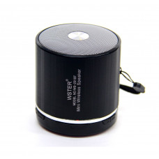 колонка WSTER Bluetooth USB SD мик аккумулятор BL-5 WS-231BT