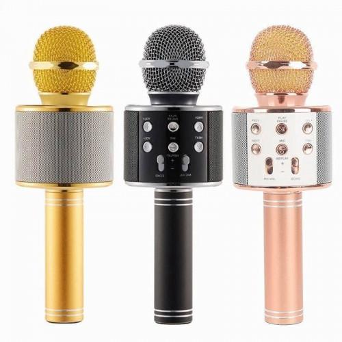 колонка микрофон Bluetooth USB радио WSTER WS-858