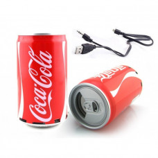 колонка USB радио в виде банки Coca-Cola, Fanta, Pepsi, Sprite