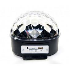 диско шар датчик светомузыка USB SD